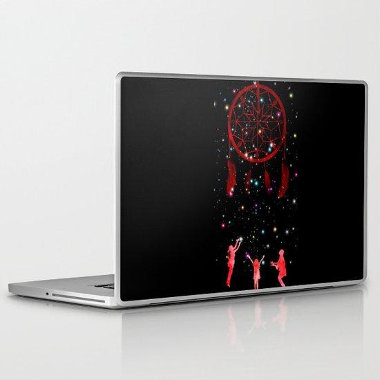 Catching dreams Laptop & iPad Skin