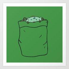 Bulba-saur Pocket Monster... Art Print