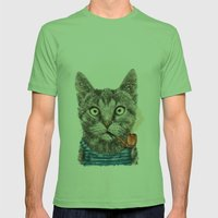 Sailor Cat IX Mens Fitted Tee Grass SMALL