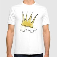 Royalty Mens Fitted Tee White SMALL
