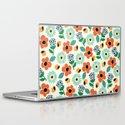 Floral Time Laptop & iPad Skin