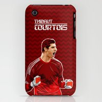 iPhone 3Gs & iPhone 3G Cases featuring Thibaut Courtois by Just Agung