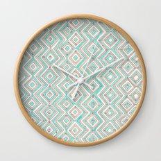zig--zag Wall Clock