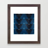 Greece Arrow Hues Framed Art Print