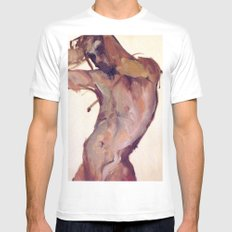 Sway White Mens Fitted Tee SMALL