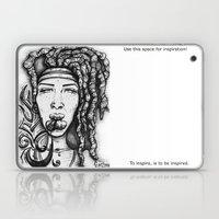 Trippy Hippy Laptop & iPad Skin