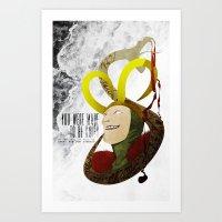 Made To Be Ruled : Loki Art Print