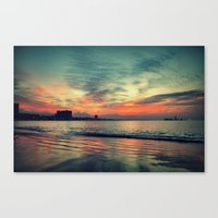In Beetween Night & Day Canvas Print