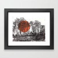 Autopilot (II) Framed Art Print