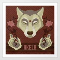 Akela Art Print