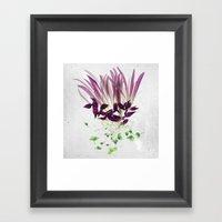 Alien Plant Botanical Bl… Framed Art Print