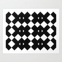Branting Black & White P… Art Print