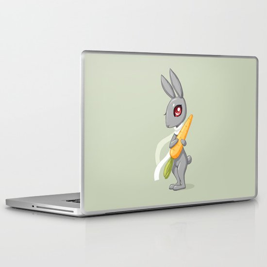 Bunny Carrot 3 Laptop & iPad Skin