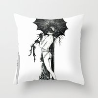 Vampyr Throw Pillow