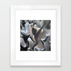 kick Framed Art Print