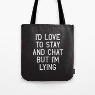 Chat Tote Bag