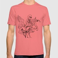 I'm a little butterfly Mens Fitted Tee Pomegranate SMALL