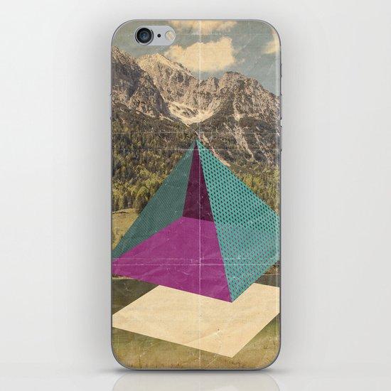 piramidi&nuvole iPhone & iPod Skin