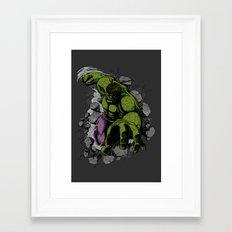Hero Mode Framed Art Print