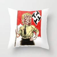 Make America Hate Again Throw Pillow