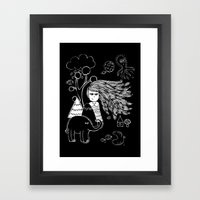 I'm Feeling Weird Framed Art Print