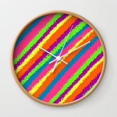 Crazy Colorz Wall Clock