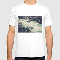Mountain River Mens Fitted Tee White SMALL