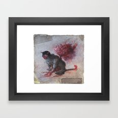 A Sure Pity. Framed Art Print