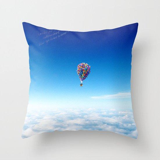 Glamorous Sky Throw Pillow