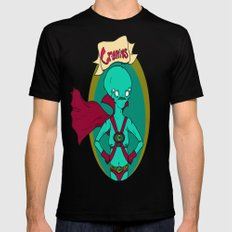 The Great and Powerful Cranius Mens Fitted Tee Black SMALL