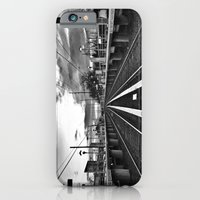 iPhone & iPod Case featuring Returning Commute by Chris Mare