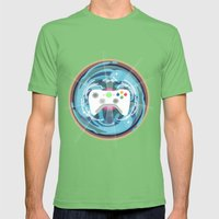 Heaven Mandala - God bless the pad Mens Fitted Tee Grass SMALL
