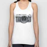 Unisex Tank Top featuring Vintage Camera Phone by Love2Snap