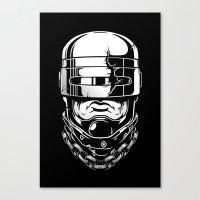Hey, Robocop! Canvas Print