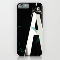 iPhone & iPod Case featuring Tyranny of the Alphabet by John W. Tomac