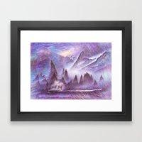 Winter Winds Framed Art Print