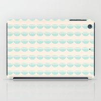 half moons iPad Case