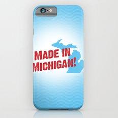 Made in Michigan Slim Case iPhone 6s