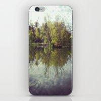 Mirror Duck Pond  iPhone & iPod Skin