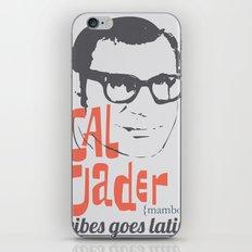 CAL TJADER iPhone & iPod Skin