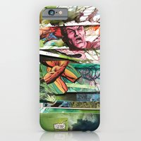 iPhone & iPod Case featuring comic strips 2 by Dominic Damien