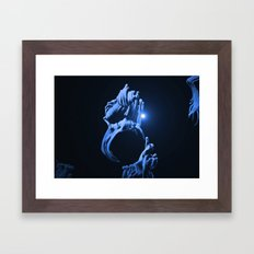 Digital Anemone Framed Art Print
