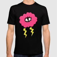 Lily Lightning Mens Fitted Tee Black SMALL
