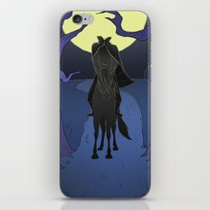 The Headless Horseman iPhone & iPod Skin