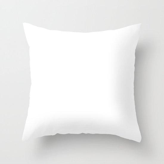 Mr. Nobody Throw Pillow