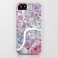 London Map iPhone (5, 5s) Slim Case
