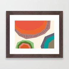 The Edge of the Sun Framed Art Print
