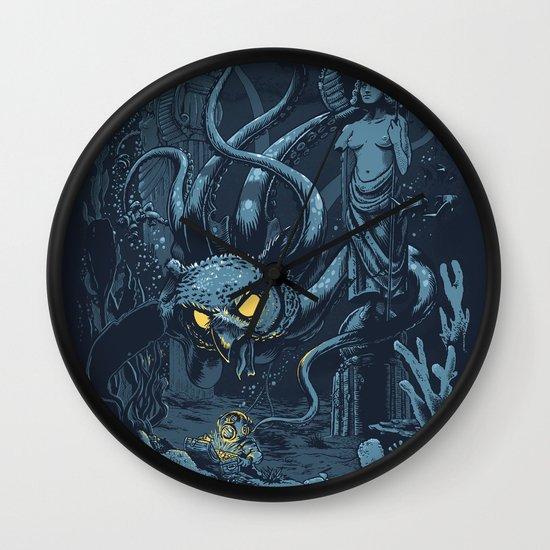 Defender of the Deep  Wall Clock