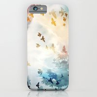iPhone & iPod Case featuring fly by Ezgi Kaya