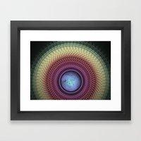 Imperceivable Worlds Framed Art Print